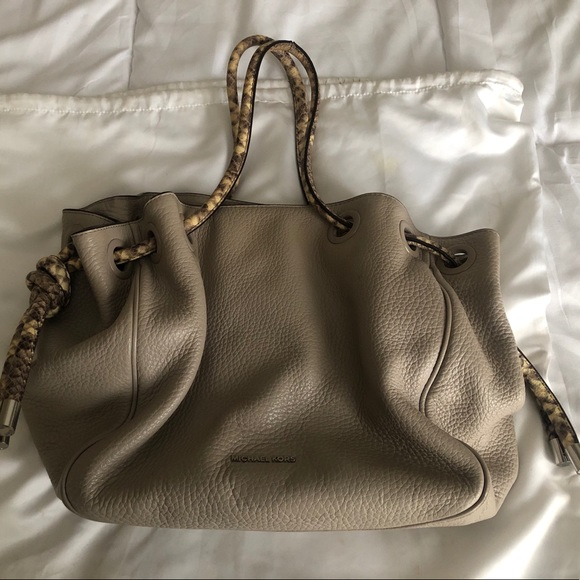 90020b930353ca MICHAEL Michael Kors Bags | Michael Kors Fauxsnake Skin Strap ...